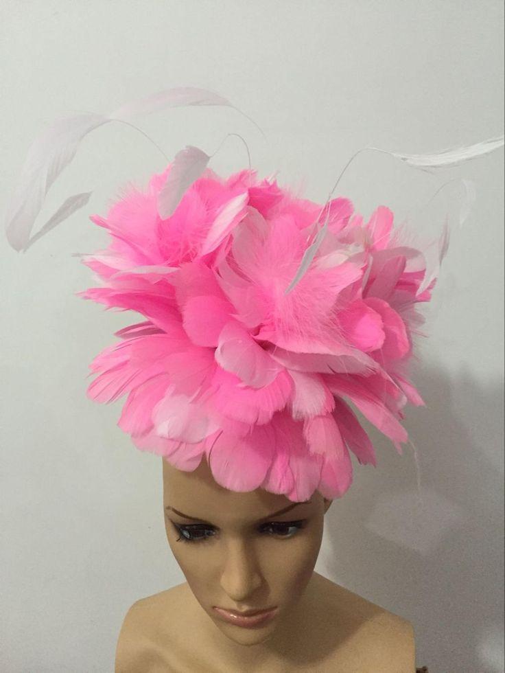 Carnaval veer hoofddeksels meisjes party dansen prestaties vrouwelijke kleding boog haar hoofdtooi dans veer hoofddeksel kostuum
