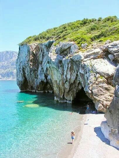 Chiliadou beach, Evia
