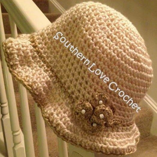 Free Crochet Patterns For Vintage Hats : Free Crochet Pattern for Vintage Cloche...love this ...