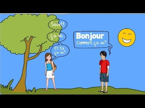 French Greetings Song for Children - Bonjour! - YouTube