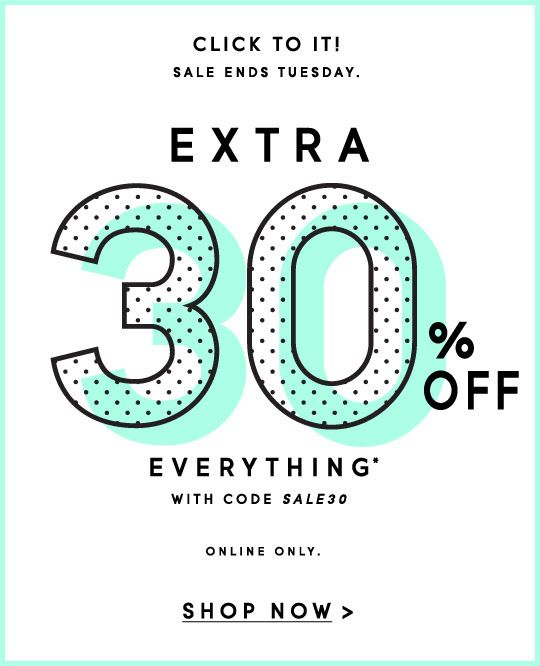 Graphic Design - Sale email design - Promo inspiration