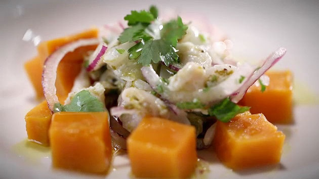 MKR4 Recipe - Pink Ling And Abalone Ceviche