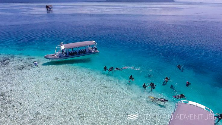 And this is how we show up in the middle of the ocean  . . . #meridianadventuresdive #rajaampat #island #islandlife #lifestyle #photography #photooftheday #picoftheday #instafun