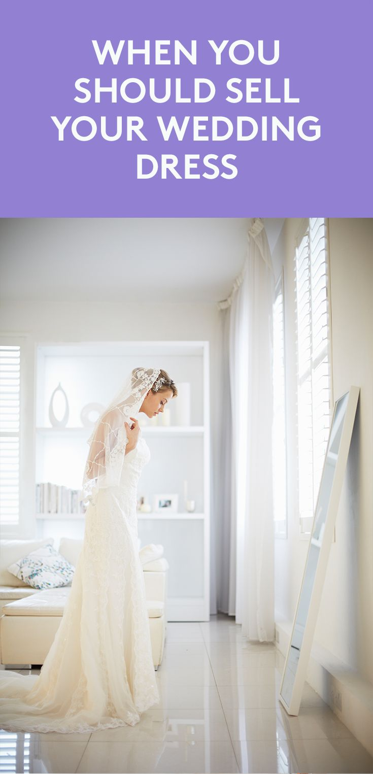 When You Should Sell Your Wedding Dress | Today's brides are saying so long to the dress. But women planning to sell their gown after their wedding better make it a short good-bye if they want to get top dollar, experts say.