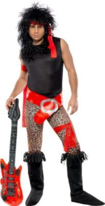 Smiffys Mens Super Rock Star Costume with Top Trousers Tag a friend who would look good in this! #RockStar #Halloween #Costume