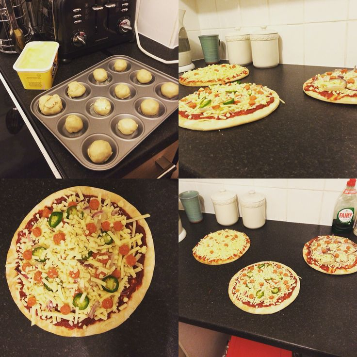 Cooking Pizza and Garlic Dough Balls with the girlfriend and her mumma!  #Pizza #DoughBalls #FamilyGoals