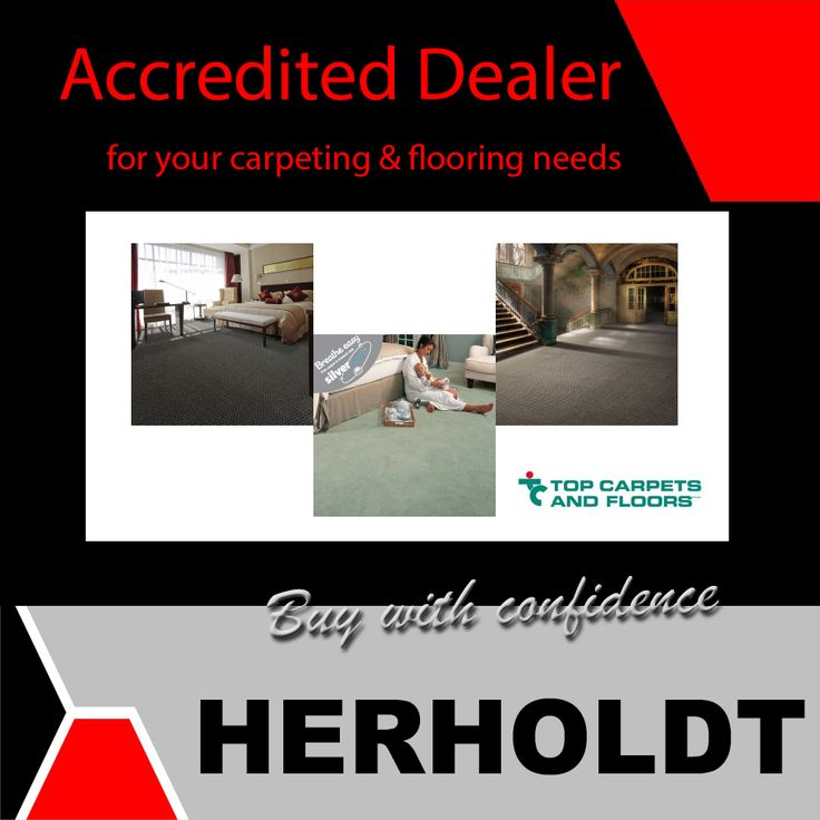 Herholdt Group is accredited dealers for Top Carpets and Flooring - for all your carpeting and flooring needs. #renovations #carpets