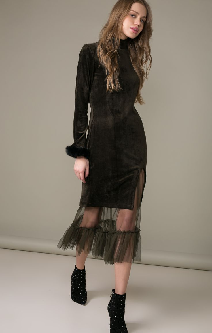 Платье из бархата со съемной фатиновой юбкой Name 250159, купить за 7840 руб в интернет-магазине TopTop.ru