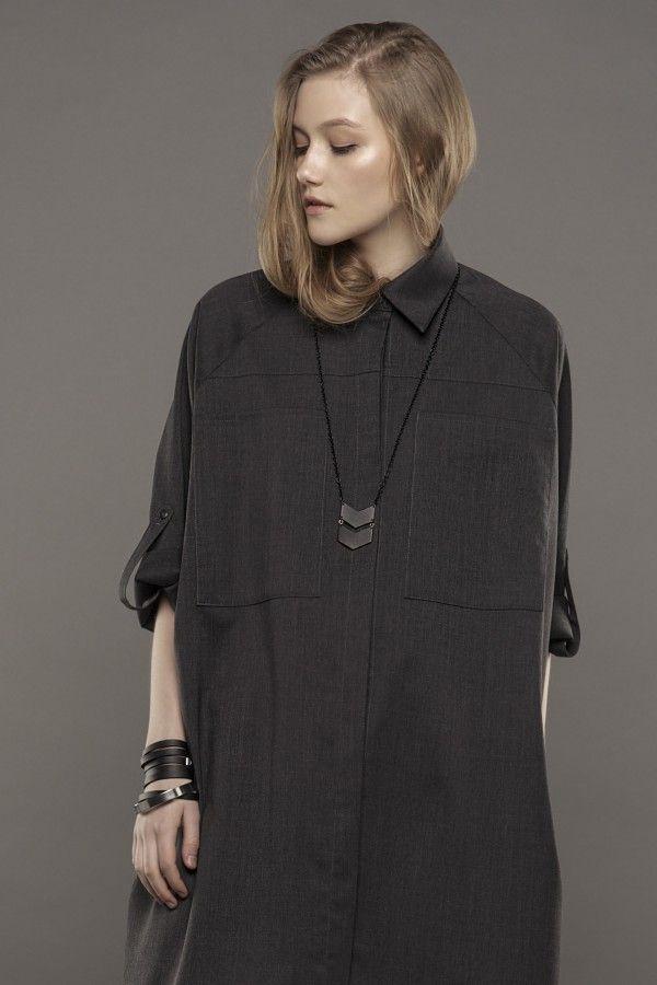d9c32cba368 gray woolen shirt