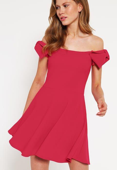 Ber ideen zu schulterfreies kleid auf pinterest - Zalando kleid rot ...