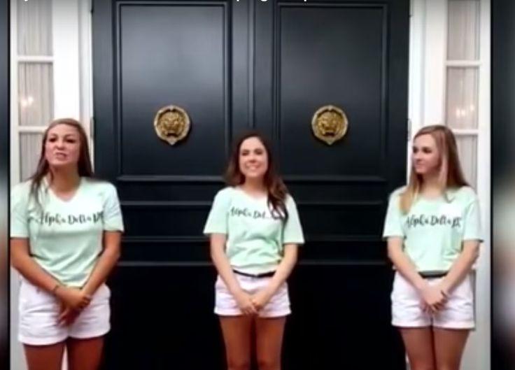 El video de una hermandad universitaria espanta en Twitter