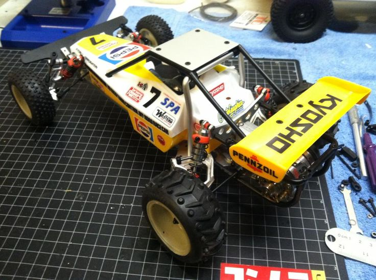 Kyosho Classic Rc Cars