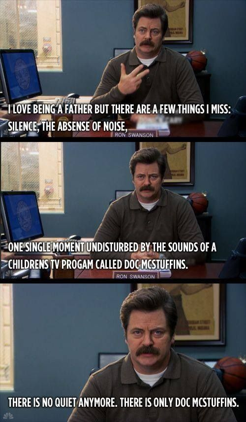 Parks and Rec | Ron Swanson