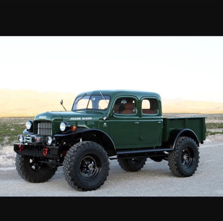Lifted Dodge Power Wagon >> 17 beste afbeeldingen over Trucks & Street Rods & Rat Rods op Pinterest - Gmc-trucks, Chevy en ...