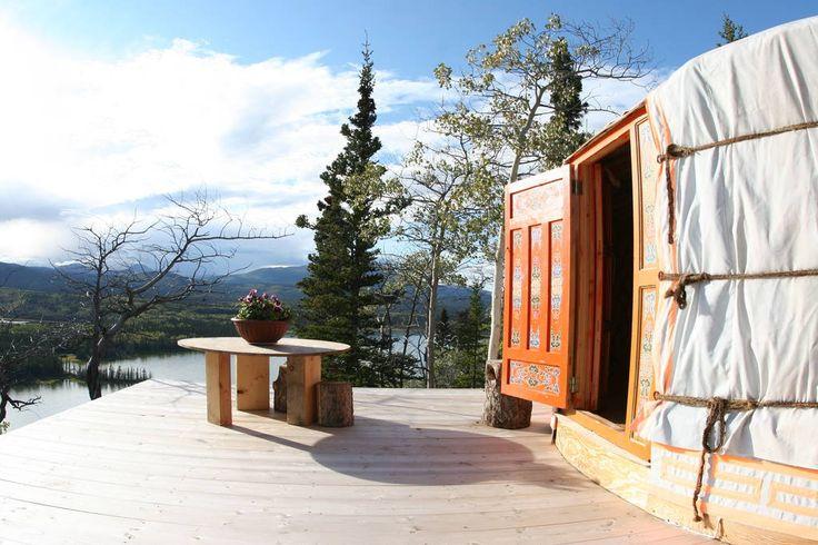 Traveling Light - Mongolian Yurt, Yukon