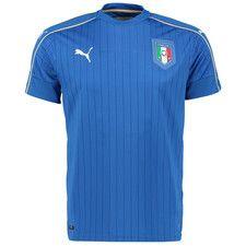 Italy Home Shirt 2016 Blue