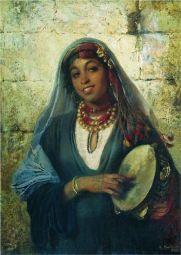 Eastern Woman (Gipsy) - Konstantin Makovsky