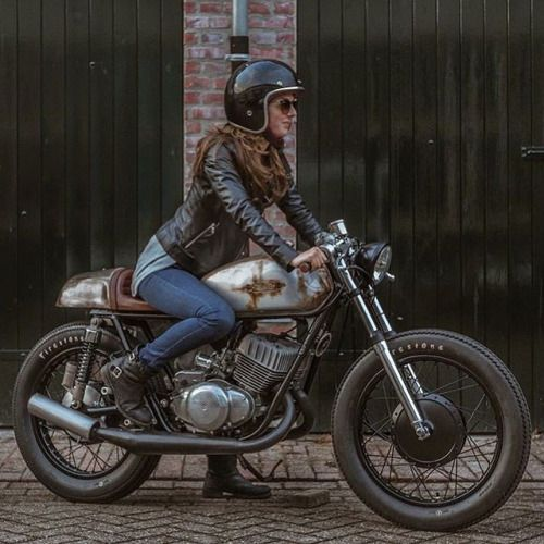 "caferacergirls: ""www.caferacergirls.com "" more girls on cafes please"