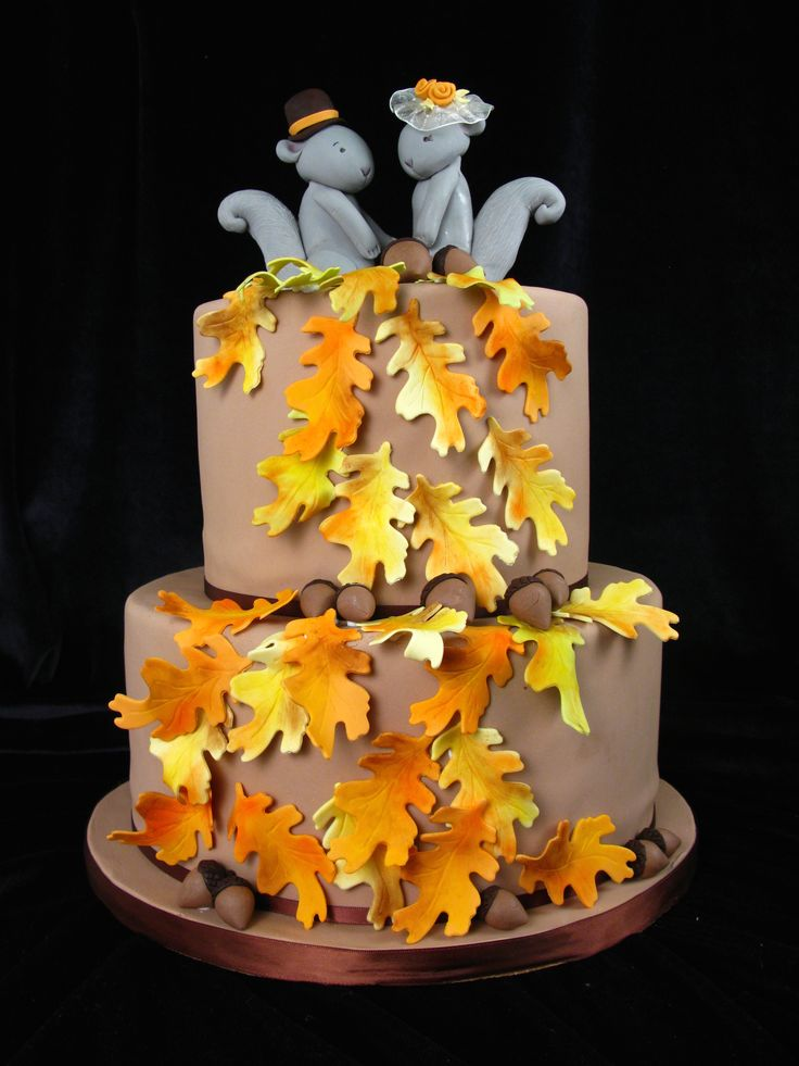 fall wedding cake toppers 107 best images about wedding cakes on wedding 4022