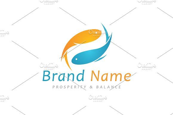 For sale. Only $29 - animal, circle, water, fish, cycle, abstract, flow, swim, loop, Yin Yang, balance, modern, prosperity, collaboration, cooperation, synergy, memorable, Pisces, fin, flipper, wealth, harmony, spa, yoga, aquarium, trading, investing, fishing, luck, wealth, simple, logo, design, template,