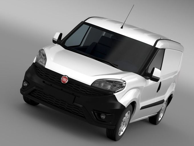 Fiat Doblo Cargo 263 2015 by Creator_3d on @creativemarket