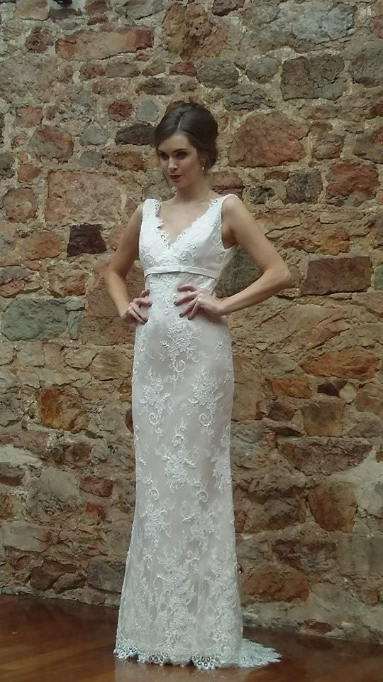 Micaela Stark from Finesse looking stunning in our 'Lucy' gown
