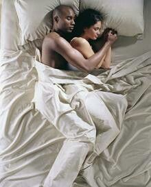 Interracial sleep sex
