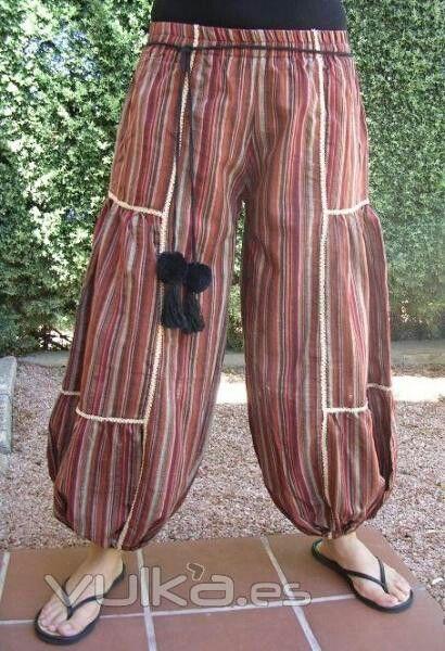 Pantalon de tela tipica de Guatemala