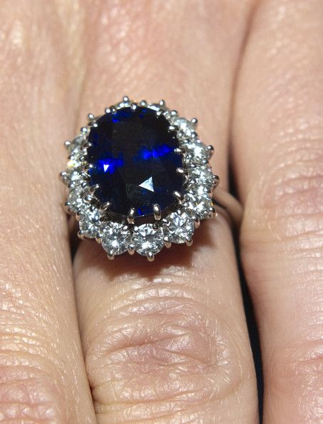 The oval blue sapphire, originally the engagement ring of Prince William's mother, the late Princess Diana, was worth £28,000 when bought in 1981, but is now valued at £300,000. The Duchess of Cambridge's ring, 14 diamonds around a 12-carat sapphire, is worth three times more than the Queen's, which is runner-up on the list.