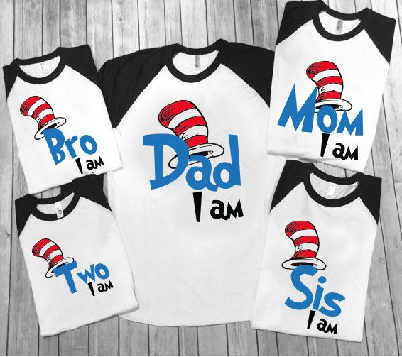 Hey, I found this really awesome Etsy listing at https://www.etsy.com/listing/495378446/dr-seuss-family-shirts-dr-seuss-birthday