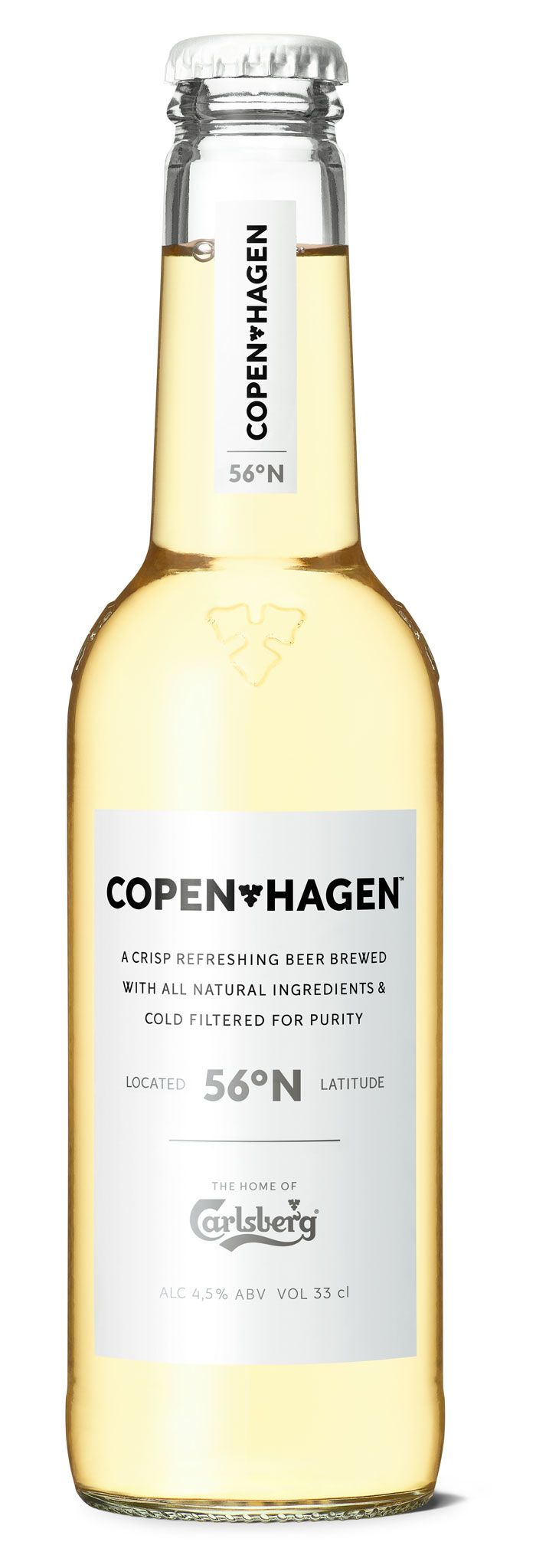 Carlsberg Copenhagen, targeted at consumers that are very design savvy. The beer, brand and design have all been developed by Carlsberg's International Innovation Department in Copenhagen in collaboration with the Carlsberg Research Center.
