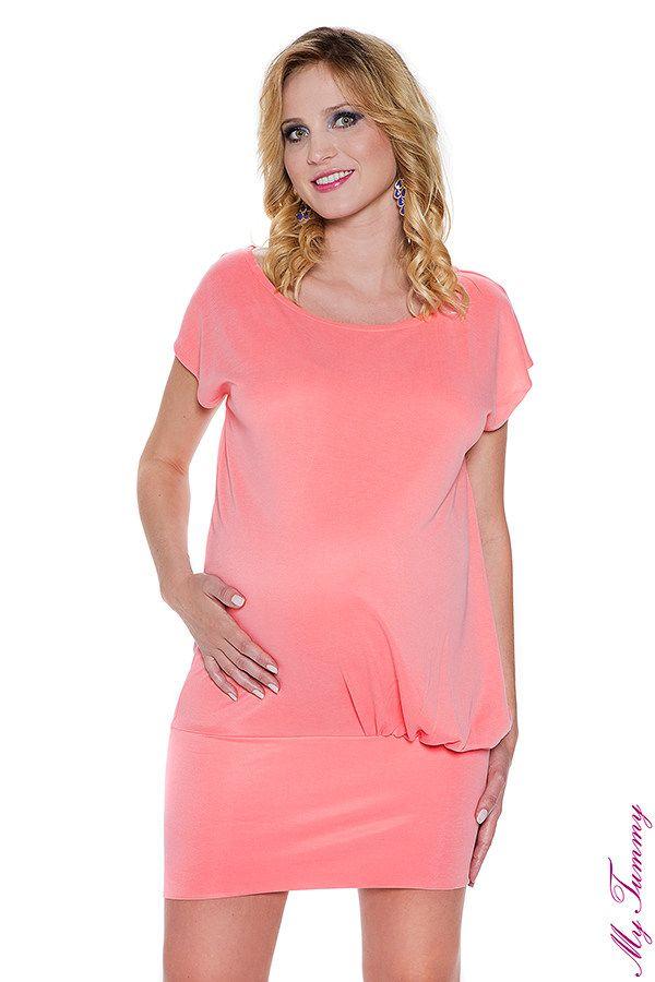 Tunika ciążowa Candy łosoś