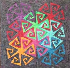 111 best Spiral Quilts images on Pinterest | Quilt patterns ... : spiral quilts - Adamdwight.com