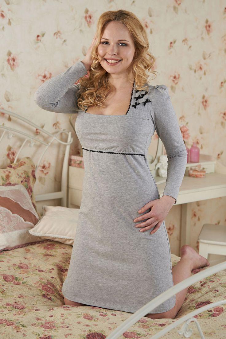 Платье для сна для кормящих мам Кьяри