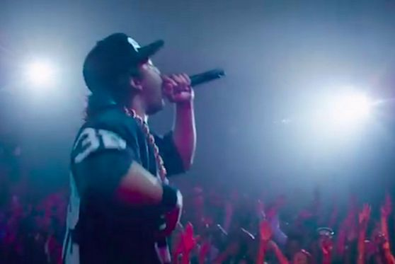 The N.W.A. biopic is here! Watch the 'Straight Outta Compton' trailer to see how N.W.A. rose to fame.
