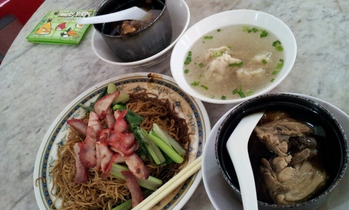 Bitor duck noodles... must try the duck soup.super nice.
