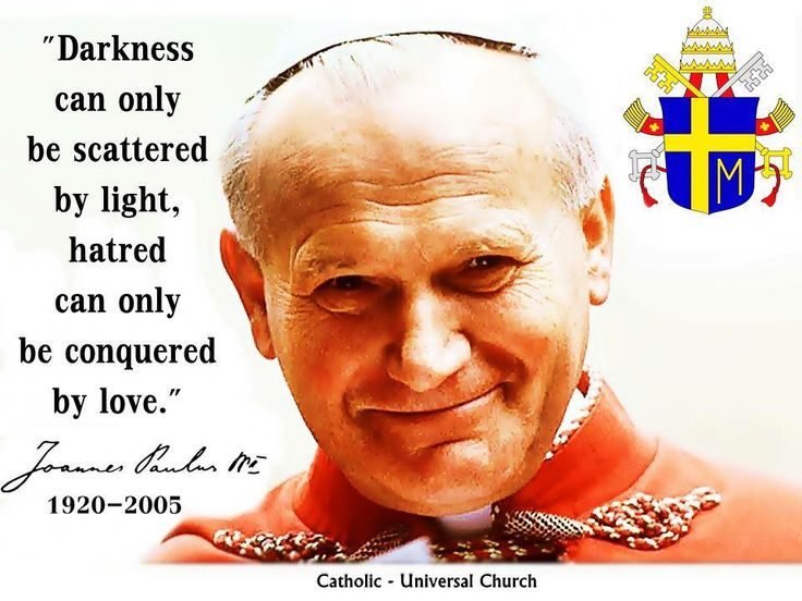 Quotes From Pope John Paul Ii: 1000+ Catholic Quotes On Pinterest