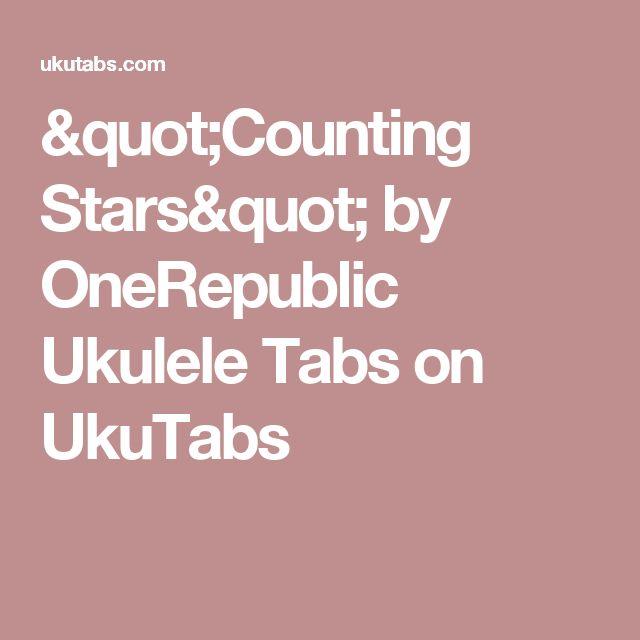 onerepublic counting stars lyrics pdf