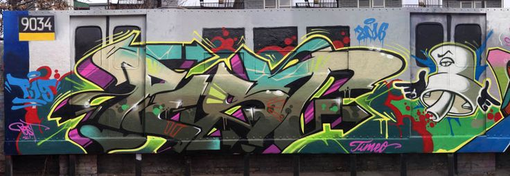 Pest / Trains Graffiti. Bombing Science is the most complete online graffiti supplies store. Check our products for your next graffiti.
