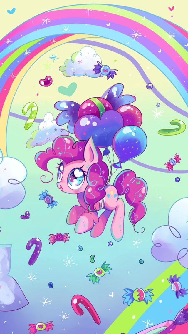 Pinkie Pie wallpaper, I love this art style