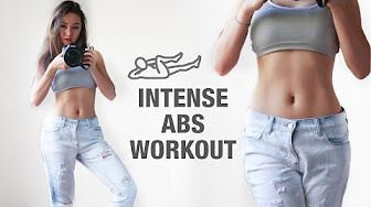 9 Exercises For A Flat Stomach - YouTube
