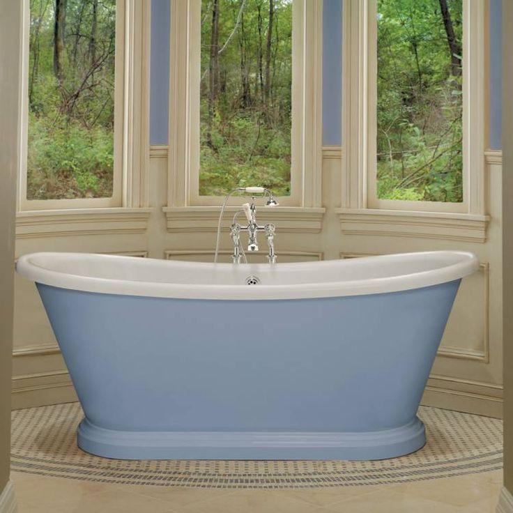 BC Designs 1800 Acrylic Boat Freestanding Bath