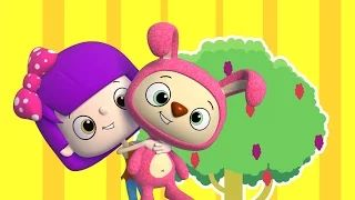 Mulberry Bush #kidsrhymes #nurseryrhymes #babysongs #babyrhymes #rhymesforchildren