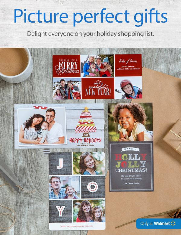 Create #PicturePerfectGifts at Walmart Photo Center - 5 Brilliant Photo Gift Ideas Ready the SAME DAY! #ad