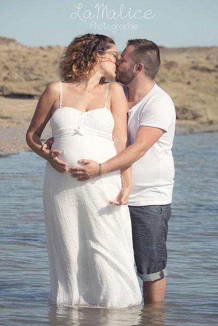 Tiphaine et Maxime - Séance Maternité | par LaMalice Photographie #photography #maternity