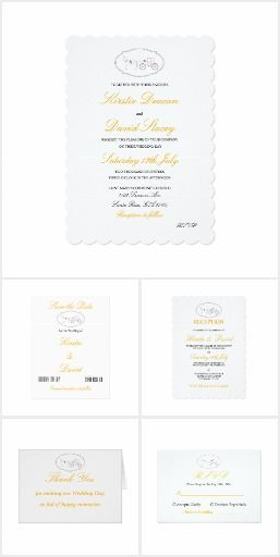 Wedding Stationery & Accessories Set 08