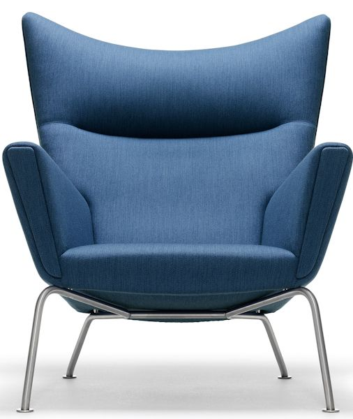 Conner Modern Lounge Chair by Nuevo Living, Light Grey modern-armchairs-and-