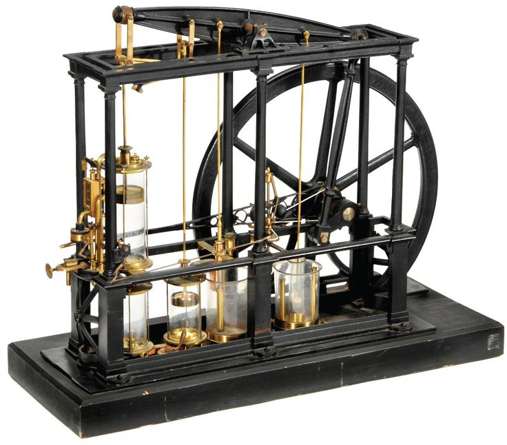 James Watt-type Beam Steam Engine from the early 1850s
