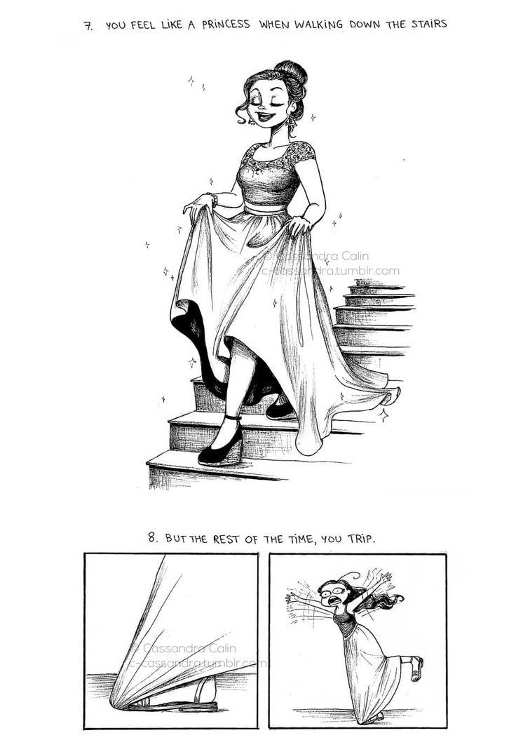 C. Cassandra comics :: 9 Truths: Maxi Skirts | Tapastic Comics - image 4