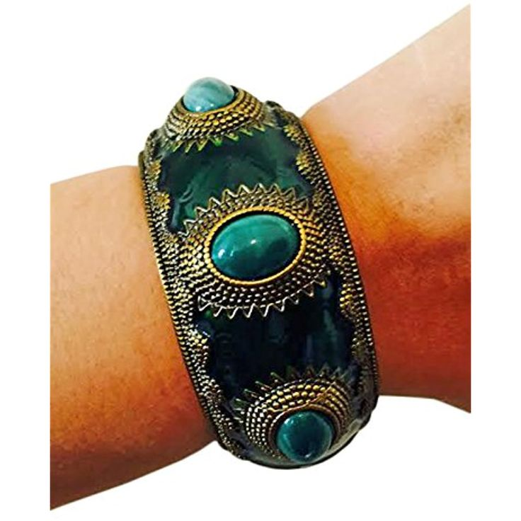 Fitness Activity Tracker Bracelet for Jawbone Up - The APHRODITE Emerald Green and Gold Jawbone Bracelet ** Visit the image link more details. (This is an affiliate link and I receive a commission for the sales)